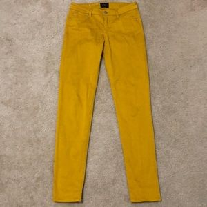 Mustard yellow jeans